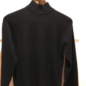 Glenshiel mock turtle neck cashmere sweater
